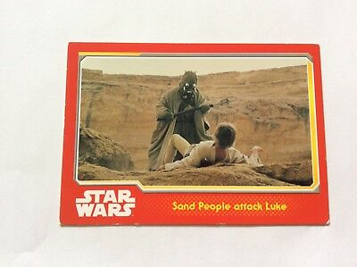 STAR WARS: Set of 10 x Topps Trading Cards