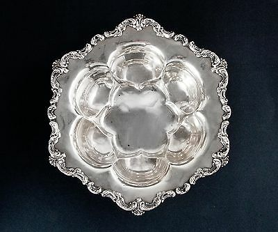 Unique Whiting Sterling Silver Fruit Bowl 10""