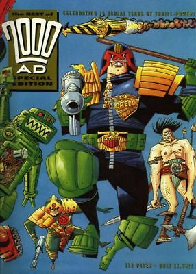 2000AD ft JUDGE DREDD - THE BEST of 2000AD SPECIAL EDITION No 1 1993 - VGC
