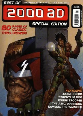 2000AD ft JUDGE DREDD - THE BEST of 2000AD SPECIAL EDITION No 3 1999 - VGC