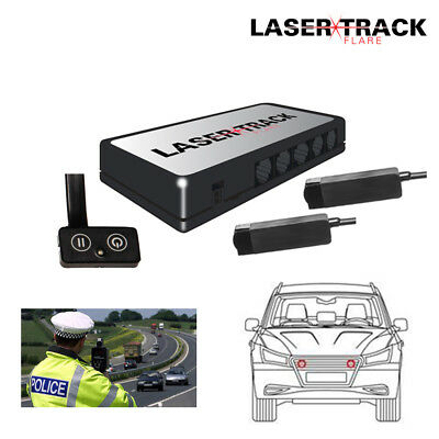 Lazer Track Flare Twin Transponder Kit Speed Trap Lazer Detector Beam Gun