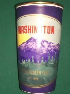 Starbucks Washington State Ceramic Double Wall Traveler Tumbler Brand New