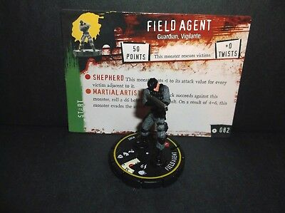 HORRORCLIX Field Agent #082, Rookie, Yellow W/Card, Base Set