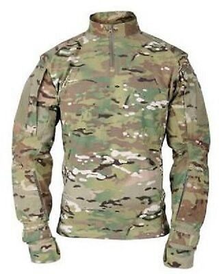 US ARMY MILITARY OCP Multicam ISAF Tactical Combat TAC U Shirt Hemd Medium