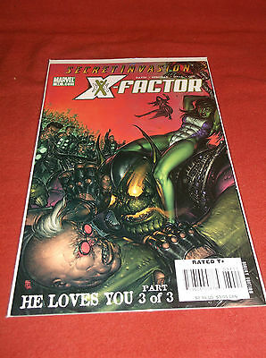 X-Factor #34 2008 (VF+) In Sleeve With A Board Backing Marvel Comic