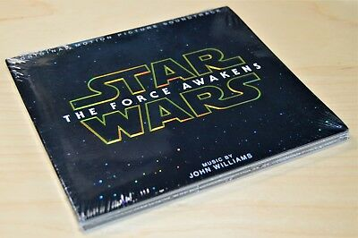 Star Wars -The Force Awakens Original Soundtrack NEW CD Sealed OST John Williams