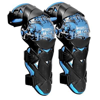 Motorcycle Knee Pads Protector Guards Armor Motocross Kneepad Gear Blue