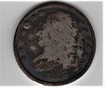 Pre Civil War Silver 1835 Capped Bust Type Dime A FRIDAY NIGHT BARGAIN BOX BUY