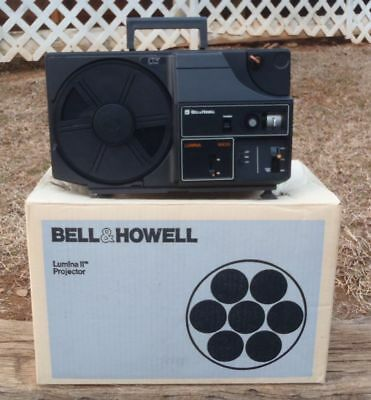 1979 Bell & Howell Lumina II MX33 MOVIE PROJECTOR for S8/8mm Film 1422BZ NOS NR