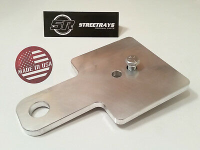 StreetRays Club Car DS EZ GO / EZGO Golf Cart Car Trailer Tow Hitch Plate