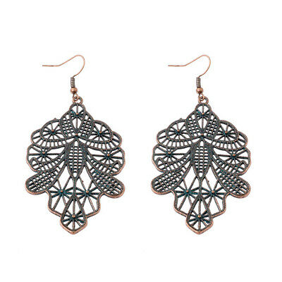 2017 Bronze Men Face Charm Vintage Ethnic Drop Women's Fashion Jewelry Earrings