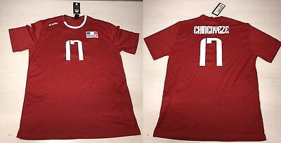 Errea 3649 Volleyball France Shirt Maglia Chinenyeze Match Pallavolo m8vn0wON