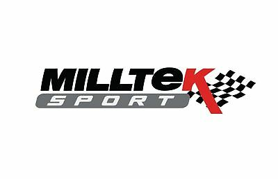 MILLTEK EXH FOR Mercedes C-Class C63 C63 S Sal 4.0  15>18 D/pipes+Cat Rep Pipes
