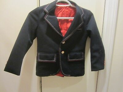 Adorable Vintage Anderson Little Boy's Jacket With Overstitching & Cute Buttons!