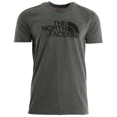 Vêtement T-Shirts The North Face homme Easy Tee taille Gris Coton