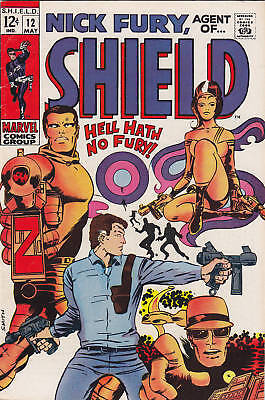 Nick Fury Agent of SHIELD #12 Barry Smith 1969 Marvel Comics