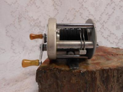 vintage LANGLEY REELCAST MODEL 500 baitcasting fishing reel collectable U.S.A.