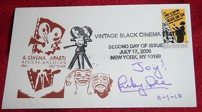 """Ruby Dee """"Actress/Stephen King's The Stand"""" Signed/Autographed 2nd Day of Issue"""