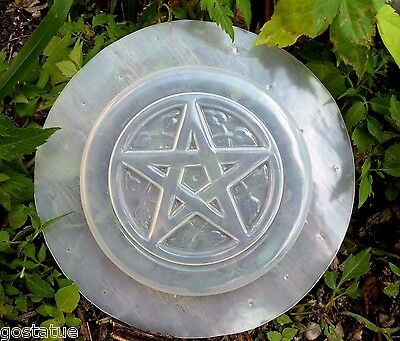 Pentagram in frame mold plaster cement resin wax casting mould