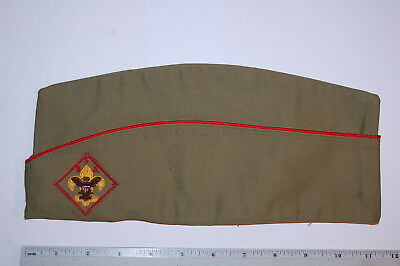 Official Boy Scout Garrison Hat - Size Extra Large  7 1/4 - 7 3/8 - 7 1/2