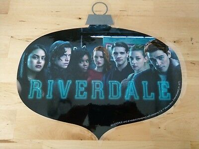 "Riverdale 12"" x 12"" Ornament Window Cling Promotional Display used CW Jughead"