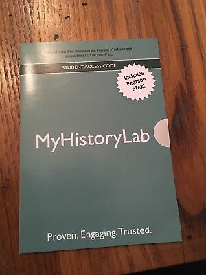 Mymathlab student access code 5499 picclick my history lab myhistorylab student access code unopened by pearson fandeluxe Gallery