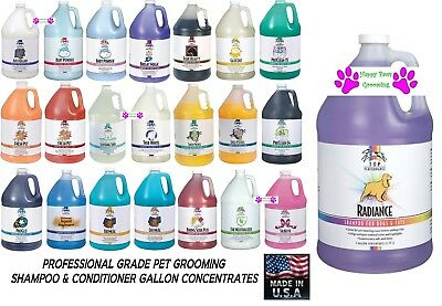 Top Performance PRO SHAMPOO&CONDITIONER GALLON CONCENTRATE PET Dog Cat Grooming