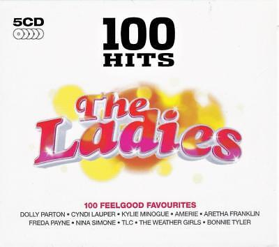 100 Hits The Ladies - Original Recordings - Various Artists (New Sealed 5Cd )