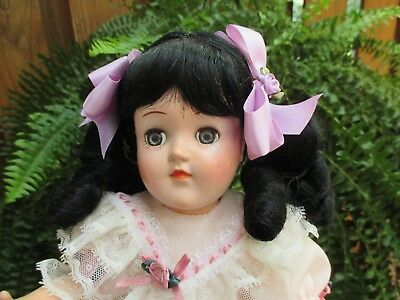 """Adorable! 14"""" P90 Ideal Toni Doll Very Nice Doll & Dress"""