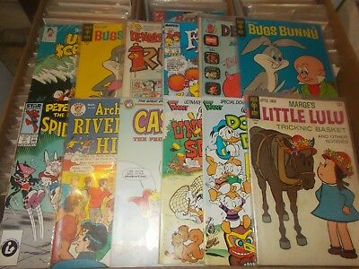 LITTLE LULU 188 1968 + 11 other cartoons   vg+  vfn+