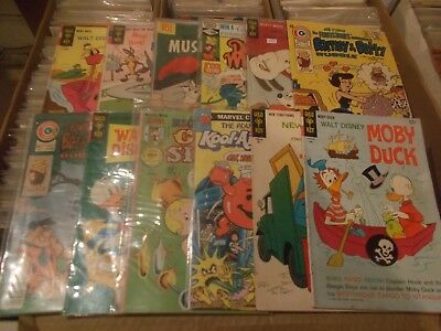 MOBY DUCK 2 1968 + 11 other cartoons   g   vfn+