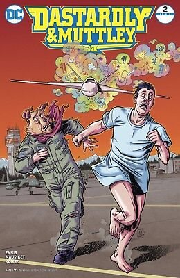 Dastardly & Muttley #2 Mauricet Cover DC Comic Book NM jaa