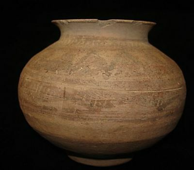 Very Nice!  Authentic Ancient Painted Jug! From Early Bronze Age! 3000Bc