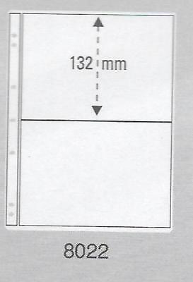 PRINZ PRO-FIL 2 STRIP CLEAR BANKNOTE PAGES Pack 50 Acid Free Sheets Ref No: 8022