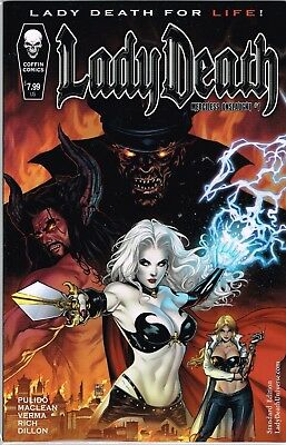 Lady Death Merciless Onslaught #1 Comic Book Nm