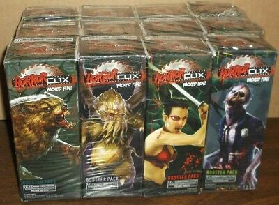 "HORRORCLIX 12 Base Set Booster Boxes ""NEW"""