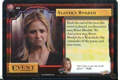 Losse niet-sportkaarten Buffy CCG TCG Angels Curse Limited Edition Card #1 Bad Eggs Niet-sportkaarten