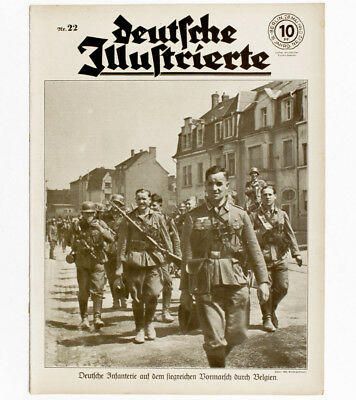 1940 How did German troops occupy Belgium and Luxembourg Photos WWII