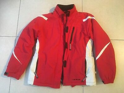 Parallel boys' red and white ski jacket - probably age 12. Very good condition.