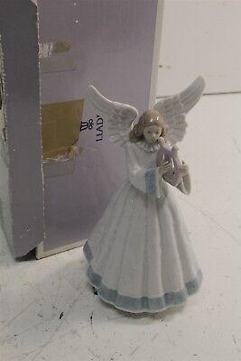 LLadro Heavenly Harpist porcelain figurine  7.5""