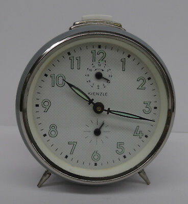 vintage 60s mechanischer Wecker Uhr Kienzle made in Germany alarm clock  ~ 60er