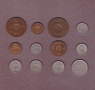 Sweden - Coin Collection - Lot # B - World/Foreign/Europe
