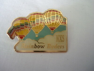 Rainbow Ryders Balloon Fiesta Pin Unused NXS Albuquerque Clutch NM New Mexico