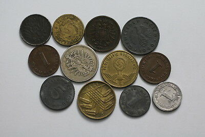 Germany Many Old Coins Lot A76 Ii34