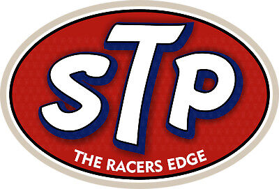 30cm STP Racers Old School Aufkleber Oldschool Sticker US Cars Dragrace Tuning