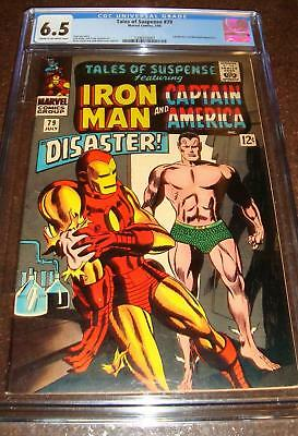 Iron Man Comic Book Silver Age No. 79 Comic Book July 1966 CGC 6.5 Red Skull