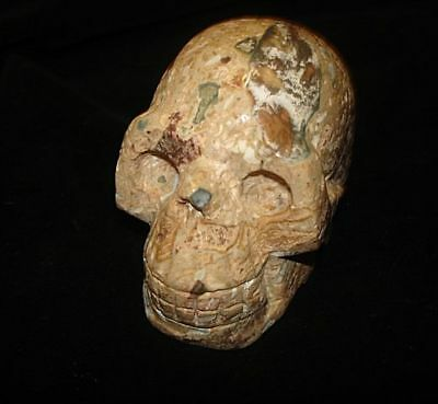 WOW!  VERY UNIQUE!  CRYSTAL SKULL!  Supernatural magic power great fortune
