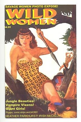 WILD WOMEN #1  AC 1999 - One Shot - Zoot Story Reprint & New Bill Black Art - NM