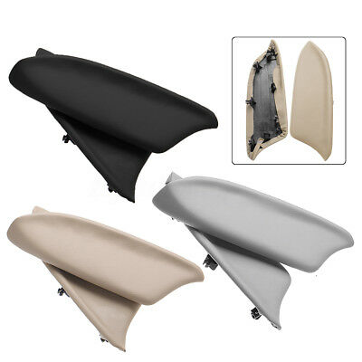 Door Panel Armrest Covers Real Leather For Honda Accord 08-12 Black Gray Beige
