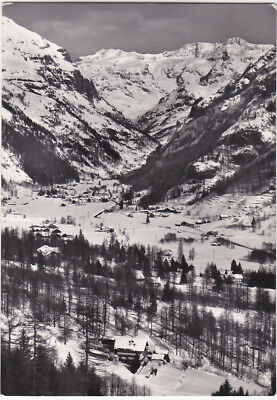 Gressoney St. Jean - Aosta - Panorama Invernal - Viagg. -16027-